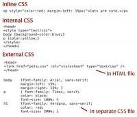 درست کردن یک فایل CSS به صورت External