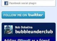 اکانت توییتر در سایت شما
