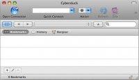 آپلود وبسایت با استفاده از Cyberduck در Mac OS X